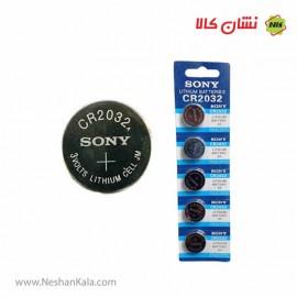 باتری سکه ای CR2032 سونی