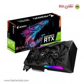 کارت گرافیک 8 گیگ گیگابایت AORUS GeForce RTX 3070 MASTER 8G