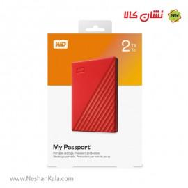 هارد اکسترنال 2 ترابایت وسترن دیجیتال My Passport