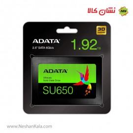 اس اس دی ای دیتا 1.92 ترابایت مدل SU650