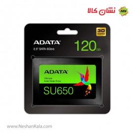 هارد اس اس دی ای دیتا 120 گیگابایت مدل SU650
