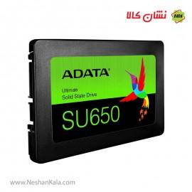 هارد اس اس دی ای دیتا 480 گیگابایت مدل SU650