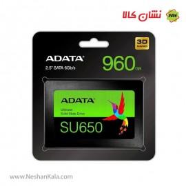 اس اس دی ای دیتا 960 گیگ مدل SU650