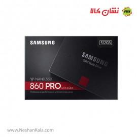 هارد SSD سامسونگ مدل 860 پرو 512 گیگابایت