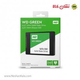 هارد SSD وسترن دیجیتال ظرفیت 240 گیگابایت